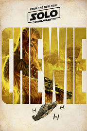 Solo: A Star Wars Story Maxi Poster - Chewie Teaser (745)