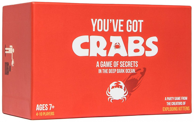 You've Got Crabs - A Game of Secrets