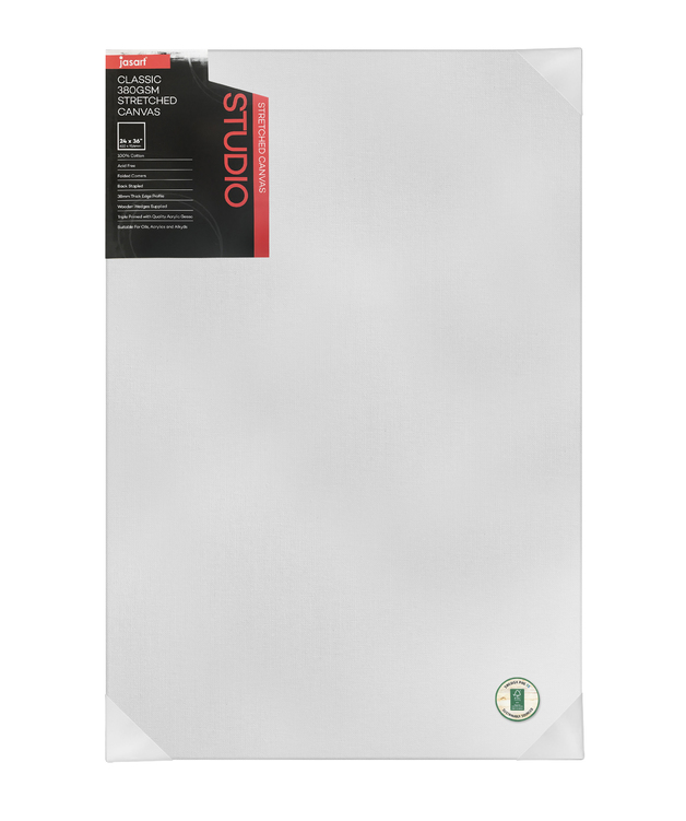 Jasart: Studio Thick Edge Canvas - 24 x 36