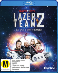 Lazer Team 2 on Blu-ray
