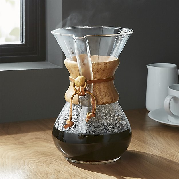 Chemex: 6-Cup Classic Glass Coffee Maker image