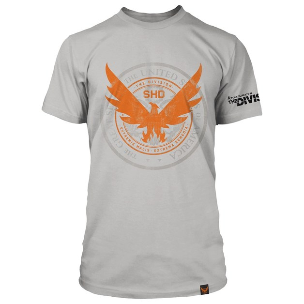 The Division 2 Seal Premium Tee, Silver (L)