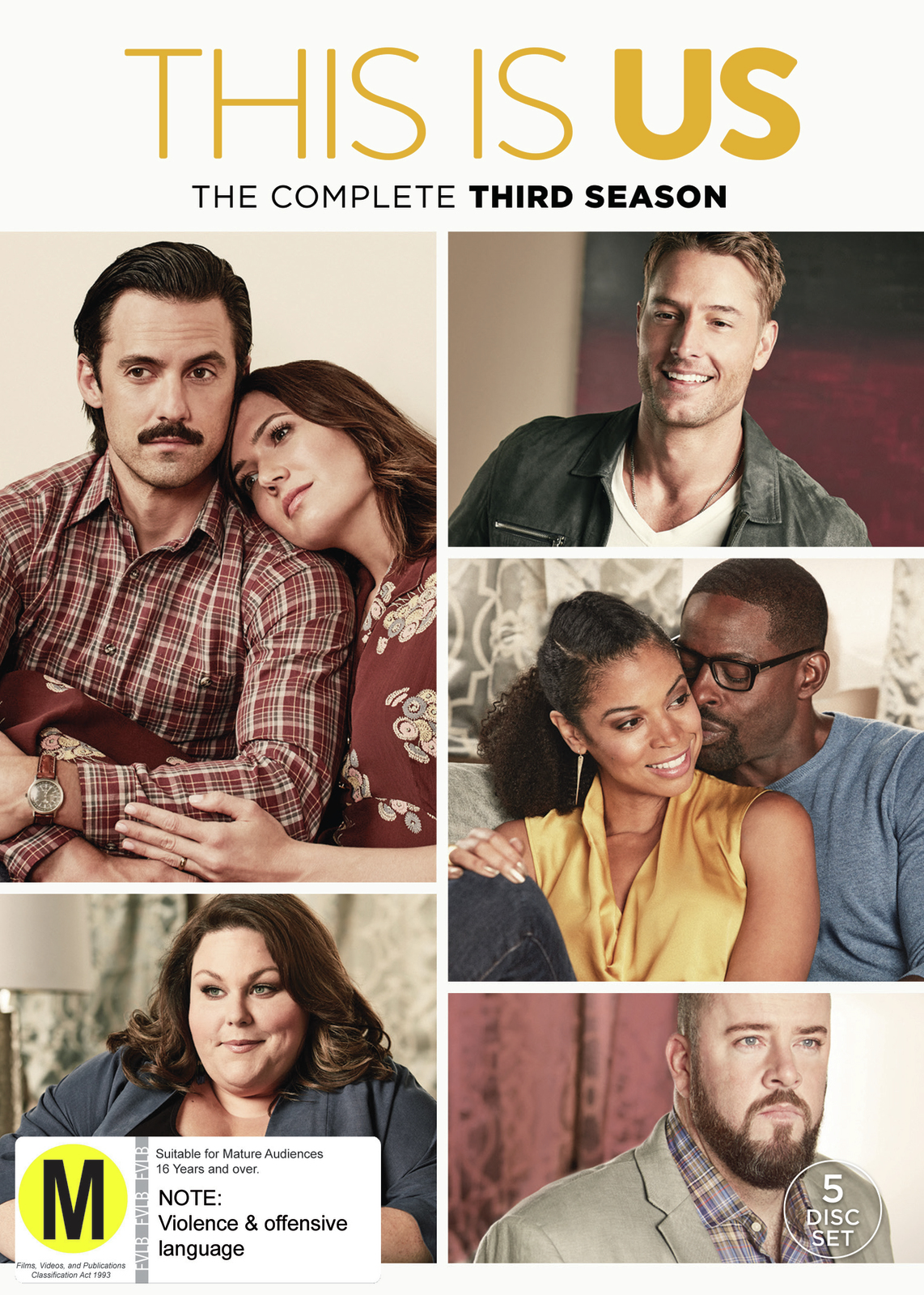 This Is Us - The Complete Third Season on DVD image