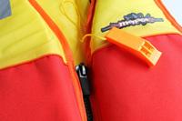 Menace Hercules Sports Life Jacket Kids | Size: Child (Yellow/Red)