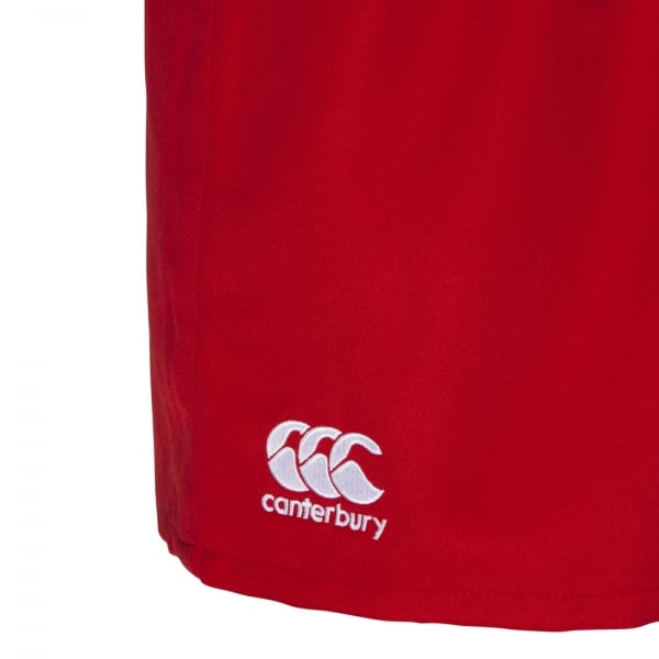 Professional Polyester Short Junior - Red (10YR) image