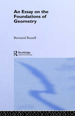 Foundations of Geometry by Bertrand Russell image