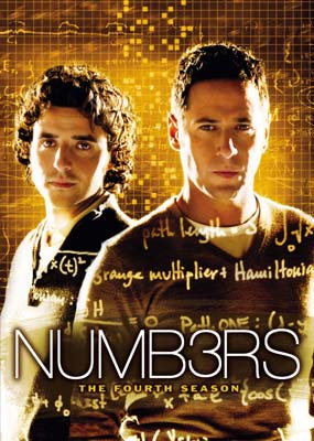 Numb3rs (Numbers) - The 4th Season (5 Disc Set) on DVD image