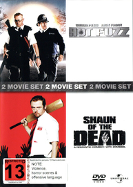 Hot Fuzz / Shaun Of The Dead - 2 Film Box Set on DVD image