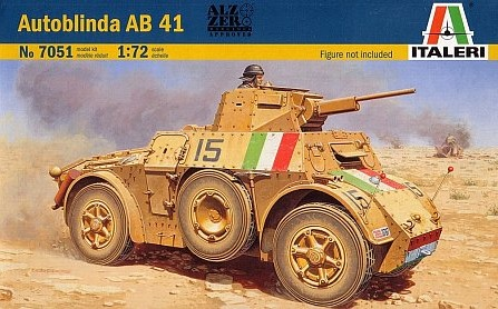 Italeri: 1/72 Autoblinda AB41 - Model Kit