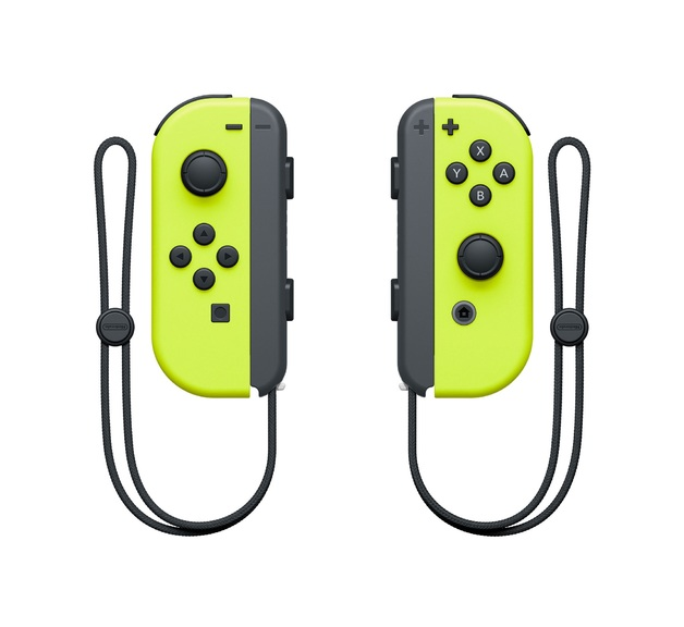 Nintendo Switch Joy-Con Yellow Controller Set for Switch