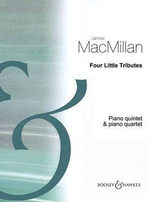 4 Little Tributes by James MacMillan image