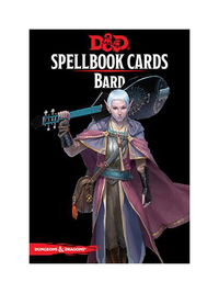 D&D Spellbook Cards: Bard Deck (110 Cards)