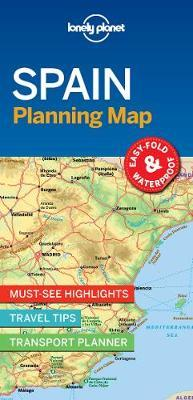 Spain Planning Map by Lonely Planet