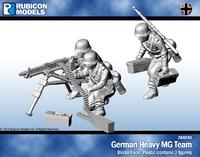 Rubicon 1/56 German Heavy MG Team