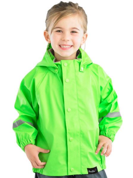 Mum 2 Mum: Rainwear Jacket - Lime (3-4 Years) image