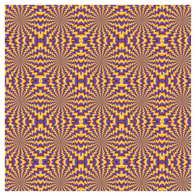 SKINZ: Illusions Book Cover - Orange & Purple (45cm x 1m)