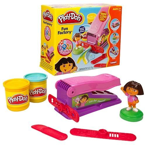 Play-doh Dora The Explorer Fun Factory image