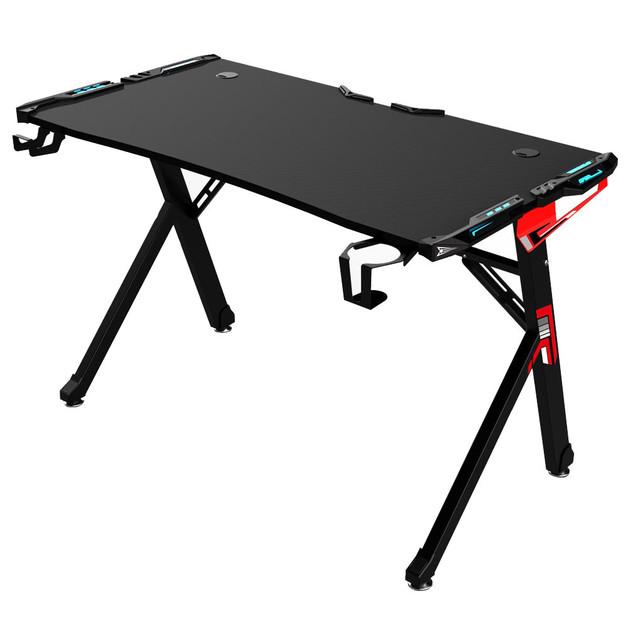 Powerwave Y-Frame RGB Gaming Desk for