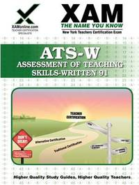 NYSTCE ATS-W: Assessment of Teaching Skills - Written Elementary 91 by Sharon Wynne image
