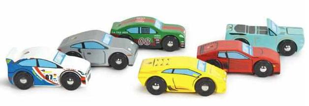 Le Toy Van: Monte Carlo Sports Cars