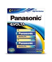 Panasonic Evolta C Batteries - 2 Pack