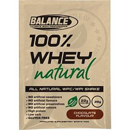 Balance 100% Whey Natural - Chocolate (Single Sachet) image