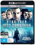 Star Trek: Into Darkness on Blu-ray, UHD Blu-ray