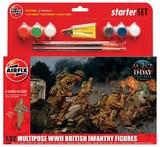 Airfix: 1:32 WWII British Infantry - Starter Model Kit