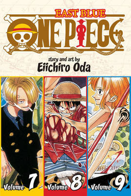 One Piece Omnibus 3: East Blue 7-8-9 (3 Books in 1) by Eiichiro Oda