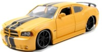 Jada: 1/24 Dodge Charger Srt8 2006 Diecast Model (Yellow)