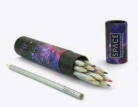 Space Pencils - Pencils in a Tube (12 pack)