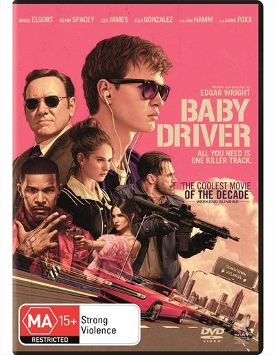 Baby Driver on DVD image