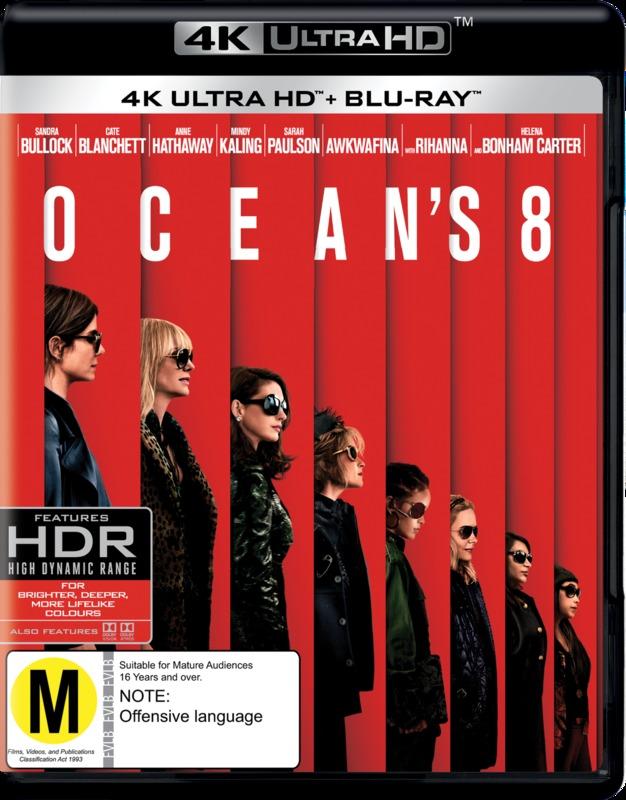 Ocean's 8 on UHD Blu-ray