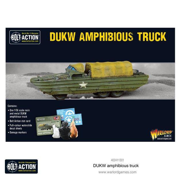 Bolt Action: DUKW amphibious truck