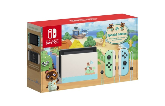 Nintendo Switch Animal Crossing: New Horizons Special Edition Console for Switch