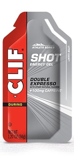 Clif Shot Energy Gel - Double Expresso w 100mg caffeine (34g)