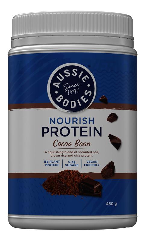 Aussie Bodies: Nourish Protein - Cocoa Bean (450g)