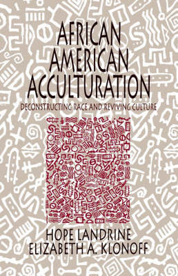 African American Acculturation by Hope Landrine