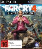 Far Cry 4 Limited Edition for PS3