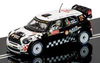 Scalextric: BMW Mini WRC #12 - Slot Car