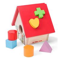Le Toy Van: Petilou - My Little Bird House Shape Sorter