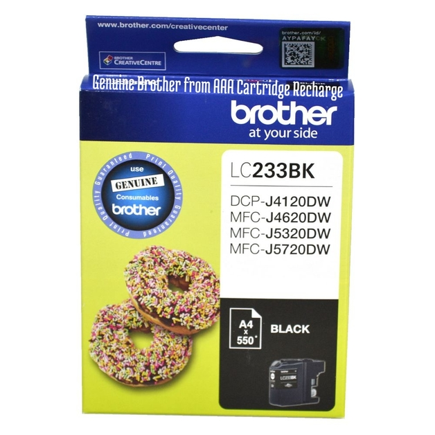Brother LC-233BK Ink Cartridge (Black)