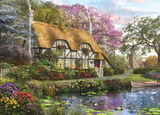 Holdson: 1000pce Picture Perfect Puzzle (The White Stone Cottage)