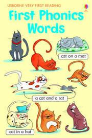 First Phonics Words by Mairi Mackinnon