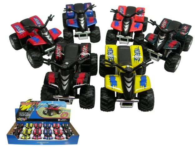 Toysmith: Die Cast Smart ATV - (Assorted Colours)