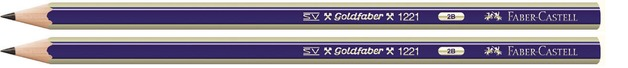 Faber-Castell: Goldfaber Graphite Pencil 2B - 2 Pack