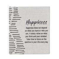 Splosh Markings Ceramic Verse - Happiness