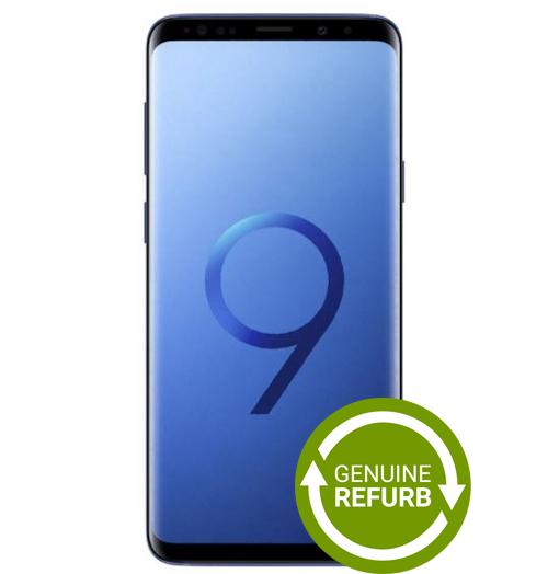 Samsung Galaxy S9+ 64GB - Coral Blue [Refurbished]