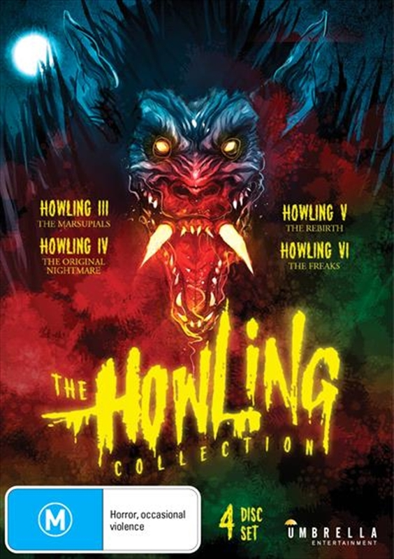 The Howling Collection (III, IV, V, VI) on DVD