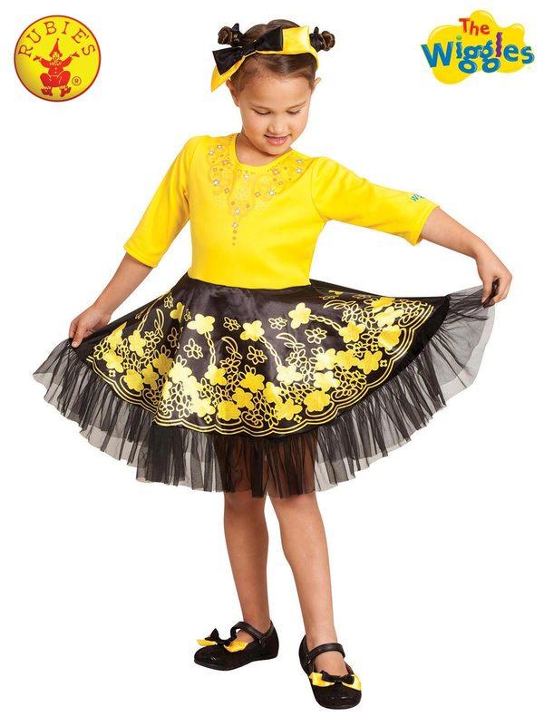 Rubies: Emma Wiggle Deluxe Ballerina Costume (3-5years)